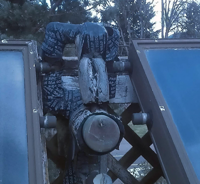 External Vapor Condenser