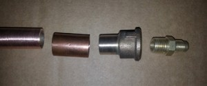 Chimney-pipe parts